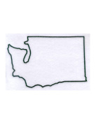 Pack of 3 Washington State Stencils Made from 4 Ply Mat Board 11x14, 8x10, 5x7