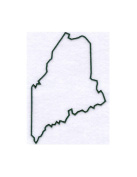Pack of 3 Maine State Stencils Made from 4 Ply Mat Board 11x14, 8x10, 5x7