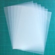 Stencil Material 5mil Blank Mylar - 14 Sheets of Reusable Mylar for Stencils - Best Quality Mylar Stencil Sheets - Cut Your Own Stencils and Use on Walls, Floors, Fabrics, Glass, Wood and More...