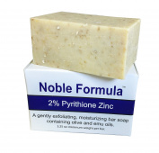 Noble Formula 2% Pyrithione Zinc (ZnP) Bar Soap 100ml - for Psoriasis, Eczema