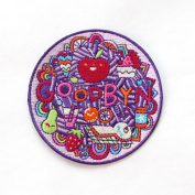Goodbyn Embroidered Patch, Apple