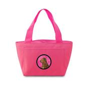 Caroline's Treasures SS4807-PK Chesapeake Bay Retriever Lunch Bag or Doggie Bag, Large, Pink