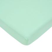 American Baby Company 100% Cotton Value Jersey Knit Crib Sheet, Mint