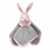 Koala Baby Sweet Bunny Security Blanket - Pink/Grey