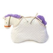 KMMall Baby Sleeping Pillow 100% Cotton Protective Pillow for Newborn Flat Head Pillow
