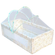 Mosquitos Net, RIUDA New Infants Portable Baby Bed Crib Folding Mosquito Net Infant Cushion Mattress