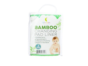 Non Slip Bamboo Changing Pad Liners by Dream Nursery - Hypoallergenic, Waterproof, Reusable, Machine Washable and Dryer Safe