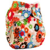Happy Cherry Baby Snap Cloth Nappy Pants Reusable one size Adjustable 0-3 Years