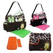 Multi Function Baby Nappy Nappy Changing Bag Changing Mat Mummy Tote Handbag