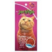 New Jerhigh Tuna Flavoured Cat Snack Great Taste for Great Happiness 40g.