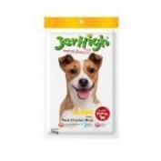 New Jerhigh Liver Stick Dog Snack Great Taste for Great Happiness 70g.