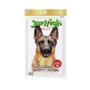 New Jerhigh Chicken Jerky Dog Snack Great Taste for Great Happiness 70g.