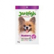 New Jerhigh Blueberry Stick Premium Dog Snack Great Taste for Great Happiness 70g.
