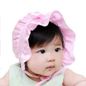 Bolayu Newborn Baby Polka Dots Beanie Hat Cap 2-12 Months