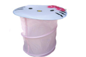 Hello Kitty Pop-open Hamper or Toy Storage with Lid, HK:44