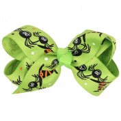 Susenstone Baby Girls Halloween Bowknot Hairpin Headdres