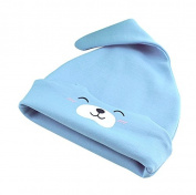 Homure Unisex-Baby Newborn 100% Cotton Adjustable Knot Hat