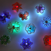 AMA(TM) 7 Colour Changing 3D LED Night Light Lamp Kids Bedroom Party Decor