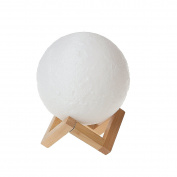 3D Printing Moon Light Lamp Charging Moon Night Light for Girl Friend Gift