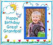 Happy Birthday to Great Grandpa