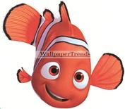 10cm Clownfish Clown Fish Finding Nemo 2 Movie Removable Peel Self Stick Wall Decal Sticker Art Bathroom Kids Room Walt Disney Pixar Home Decor Boys Girls 10cm wide by 7.6cm tall