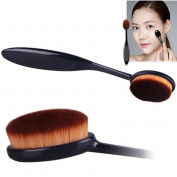 XILALU Pro Cosmetic Makeup Face Powder Blusher Curve Foundation Brush
