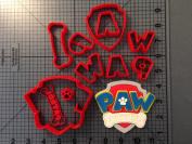 Baby shower Paw Cartoon Cookie Cutter Set 10cm
