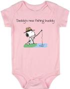 VRW Daddy's new fishing buddy unisex baby Onesie Romper Bodysuit