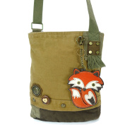 Chala Patch Crossbody Bag-Fox, Brown