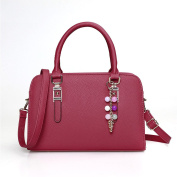 New Fashion Shoulder Messenger Bag Handbag Pure Colour bag for women with Strap