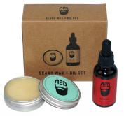 Ned Fresh One Beard Wax And Outback One Beard Oil Combo