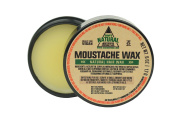 Sam's Natural Moustache Wax - Moustache/Moustache Wax - Natural - Vegan and Cruelty Free - America's Favourite
