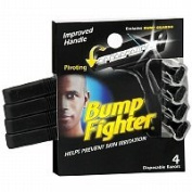 Bump Fighter Disposable Razors, 4 Each - 2pc