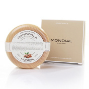 Mandorla Shave Soap in Bowl, 150ml shave cream by Mondial