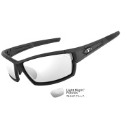 Tifosi Camrock Matte Black Fototec Sunglasses - Light Night Fototec