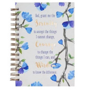 Journal Wirebound Large Serenity Prayer
