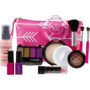 "Pretend Makeup Play Set for Children by Cutegirl Cosmtics. Essential ""Arrow"" Bag Kit."