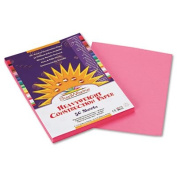 Construction Paper, 26kg., 9 x 12, Pink, 50 Sheets/Pack, Sold as 50 Sheet