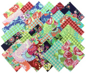 Amy Butler LOVE Precut 17cm Cotton Fabric Quilting Squares Charm Pack Assortment Westminster Fibres