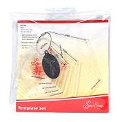 Sew Easy Patchwork Mini Hexagon Template Set
