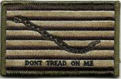 Shoulder Patch - Navy Jack Don't Tread On Me - Multitan
