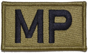 Military Police Brassard Multicam OCP Scorpion Camo Hook Fastener Patch Made in USA