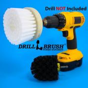 Revolver Drill Brush - Power Scrubbing Drill Attachment - Multi-purpose Cleaning Tool with Original Drillbrush Power Scrubber