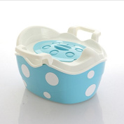 Infant baby toilet toilet baby potty , blue