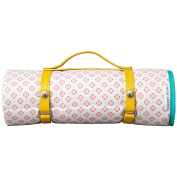 Avery Row Round in Circles Coral Go Everywhere Mat