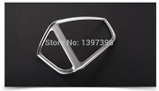 isremi(TM) 2pcs/set ABS Chrome trim accessories interior outlet decoration ring for Ford ESCAPE KUGA 2013 2014