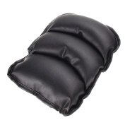Hrph Car Auto Armrests Cover Vehicle Centre Console Arm Rest Seat Box Pad Protective Case PU Mats Cushion Universal