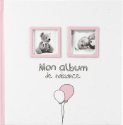 My first photo album - Baby Girl - Colour PINK