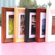 HAHA 50cm table solid wood wall photo frame picture frame