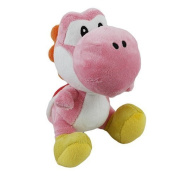 Little Buddy Toys Nintendo Official Super Mario Yoshi Plush, 15cm , Pink by Little Buddy Toys
